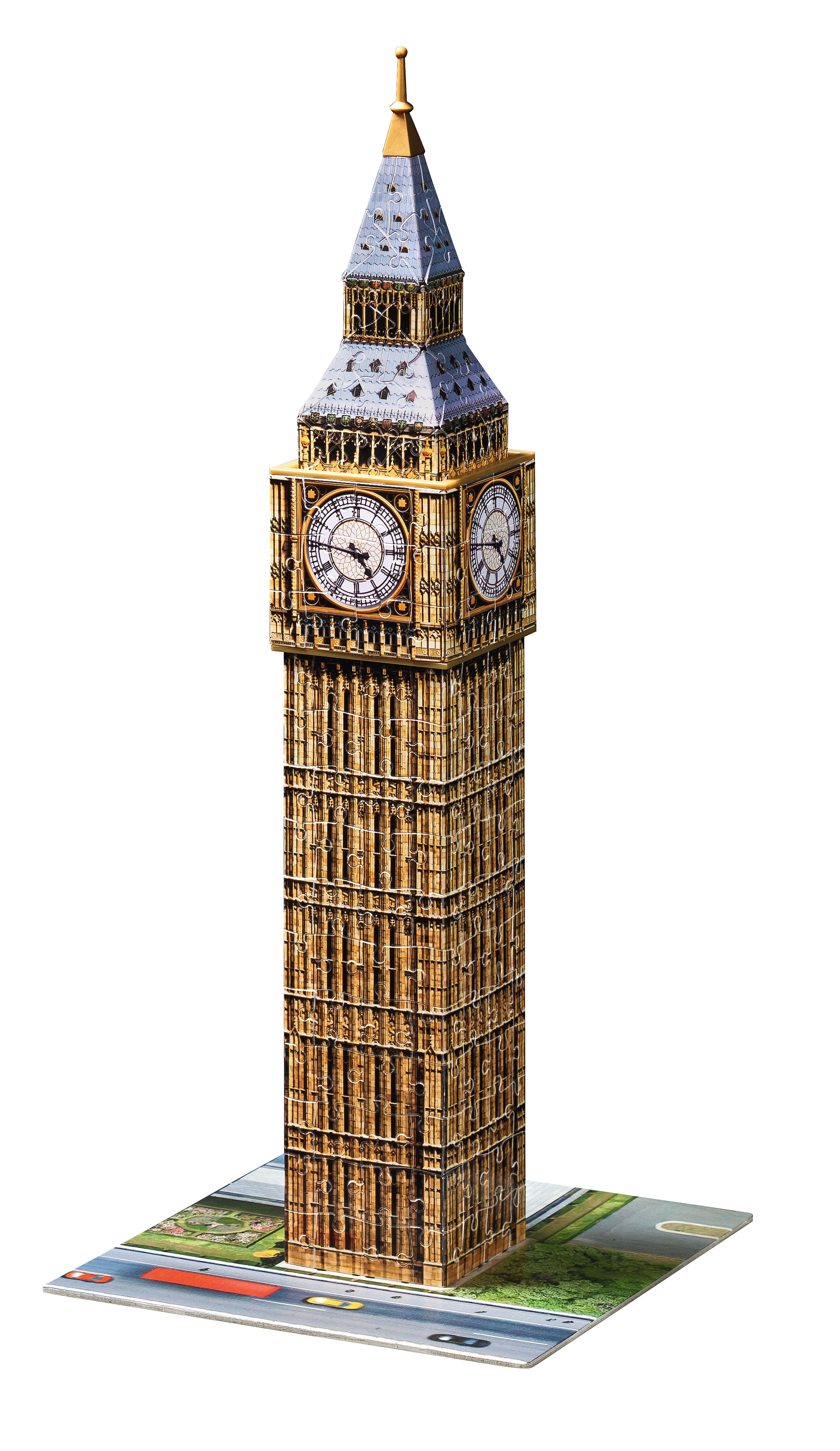 cb6f3abc9 Big Ben Ravensburger 3D puzzle 216 | pucliky.cz