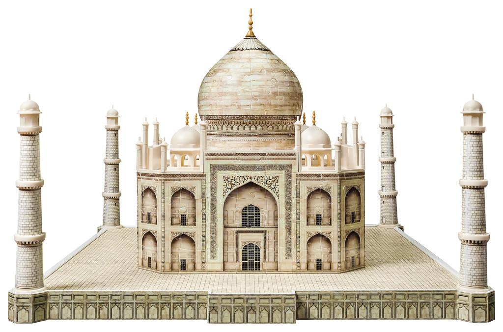 Taj Mahal 3d Image: Taj Mahal Ravensburger 3D Puzzle 216