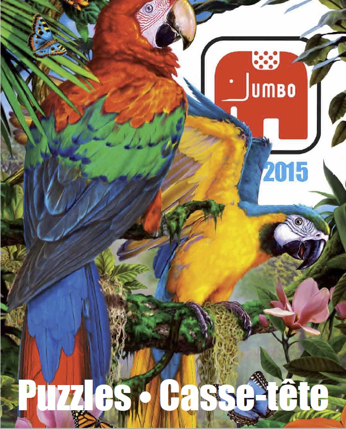 Katalog puzzle Jumbo 2015