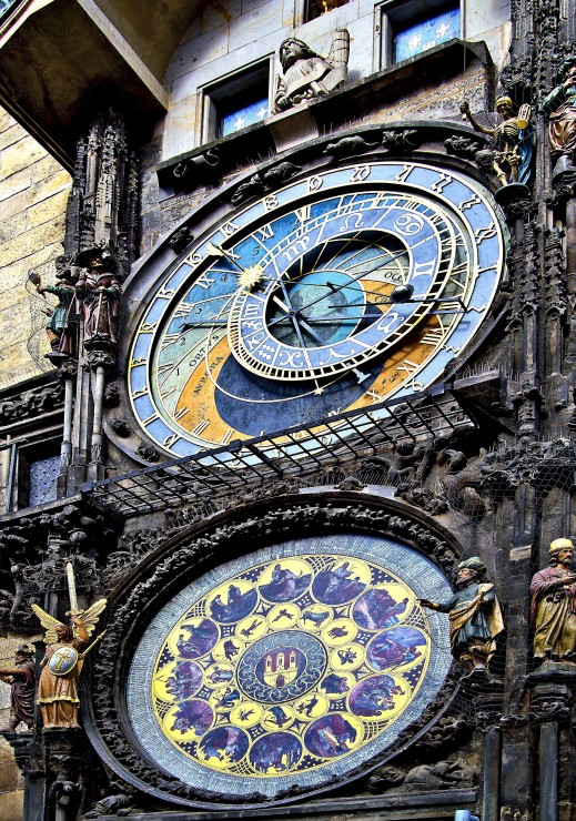 Prager Rathausuhr Grafika Puzzle 1000 Pucliky Cz