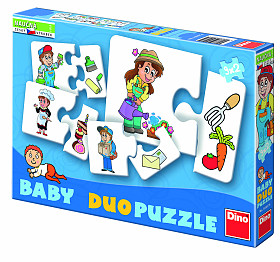 Baby Puzzle Profese 2 in Box