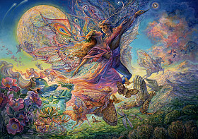 Josephine Wall - Titania and Oberon II