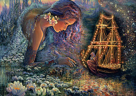 Josephine Wall - Star Ship