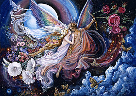 Josephine Wall - Eros and Psyche