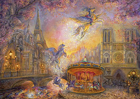 Josephine Wall - Magical Merry Go Round