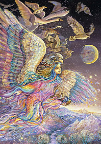 Josephine Wall - Ariel's Flight