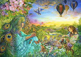 Josephine Wall - Daydreaming