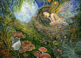 Josephine Wall - Fairy Nest