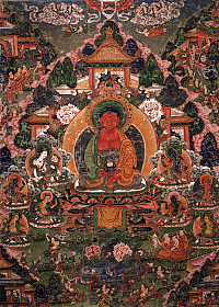 Buddha Amitabha in His Pure Land of Suvakti