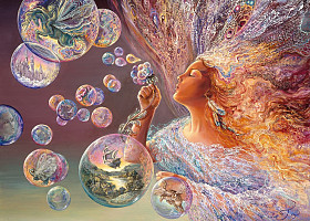 Josephine Wall - Bubble Flower