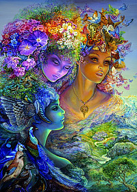 Josephine Wall - The Three Graces