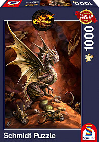 Anne Stokes - Desert Dragon