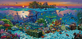 Wil Cormier - Coral Reef Island