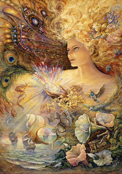 Josephine Wall - Crystal of Enchantment