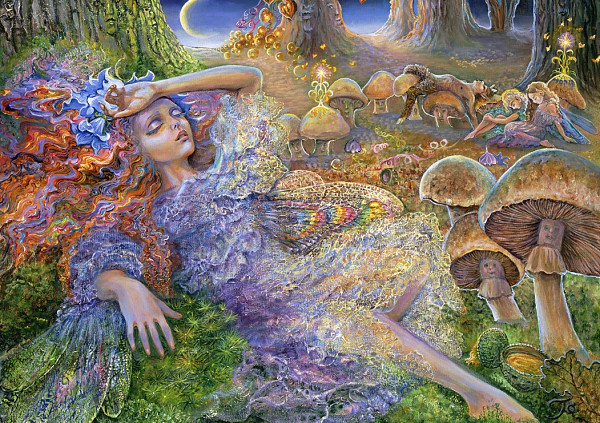 Josephine Wall - After The Fairy Ball