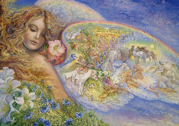 Josephine Wall - Wings of Love