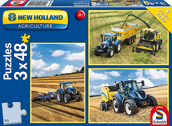 New Holland T7 315 / T5 120 / FR 550