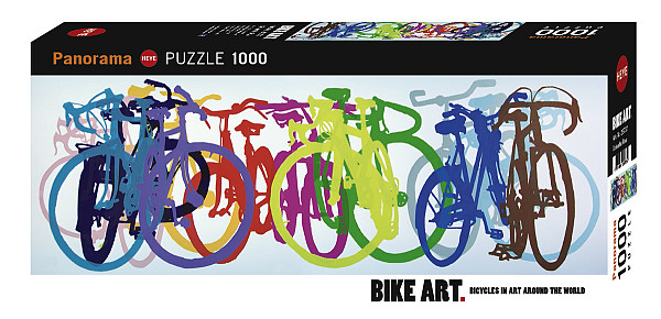 Colourful Row, Bike Art