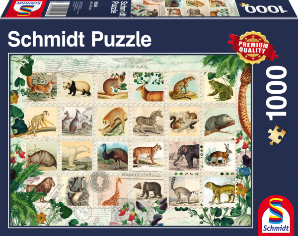 Wildlife Stamp Collection