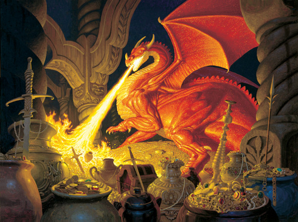 The Hildebrandt Bros - Smaug Dragon